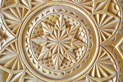 Carving. Beautiful wood carving art skills Royalty Free Stock Photography