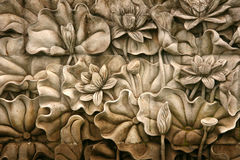 Carving - Botanical Gardens, Singapore stock images