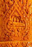 Carving Candle Royalty Free Stock Images