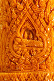Carving Candle Stock Image