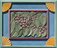 Carving of Cherries Royalty Free Stock Images