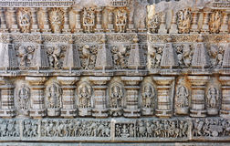 Carving At Keshava Temple,Mysore Royalty Free Stock Image