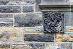 Carving of a Native Canadian, Parliament Buildings Royalty Free Stock Photography