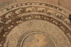 Free Carving On A Floor Of Ancient Temple, Polonnaruwa, Royalty Free Stock Images - 26112149