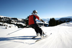 Free Carving On The Slope Stock Photography - 13182062