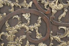 Carving pattern Royalty Free Stock Images