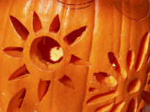 Carving Pumpkins Royalty Free Stock Photography