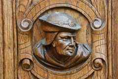 Carving, Relief, Stone Carving, Wood royalty free stock photography