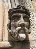 Carving on St Mark's Church, Edgecliff, Australia. Detail of St Mark's Church, Edgecliff, NSW Stock Photo