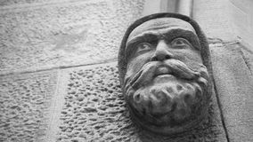 Carving on St Patrick's Catholic Church, The Rocks, Australia Royalty Free Stock Photos