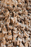 Carving statue in the The Jade Buddha Temple shanghai china Royalty Free Stock Photos