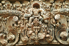 Carving- Stone carving Royalty Free Stock Images
