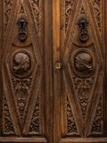 Carving, Stone Carving, Wood, Door stock images