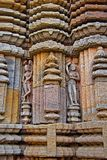 Carving on the temple wall Stock Image
