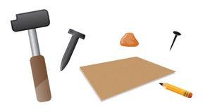 Carving tools Stock Photos