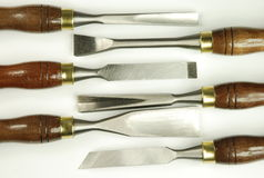 Carving Tools Royalty Free Stock Image