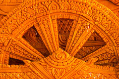 Carving of wax Royalty Free Stock Image