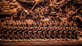 Carving wood,engraving royalty free stock photo