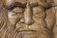 Carving in wood Royalty Free Stock Photography