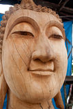 Carving. The wooden carve image of buddha thai style royalty free stock photography