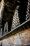 Carvings árabes na madeira Fotos de Stock Royalty Free