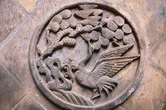carvings кирпича Стоковое Изображение RF