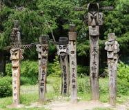 carvings корейские Стоковая Фотография RF