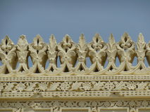 Carvings av Gumbaz Royaltyfria Foton