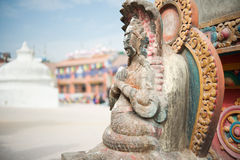 The carvings on the censer, Nepal Royalty Free Stock Images