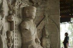 Carvings da rocha de Dazu Fotografia de Stock Royalty Free
