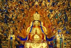 Carvings da rocha de Dazu, chongqing, porcelana fotos de stock royalty free