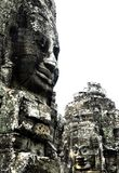 Carvings de Bayon imagem de stock royalty free