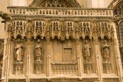 Carvings de Canterbury foto de stock