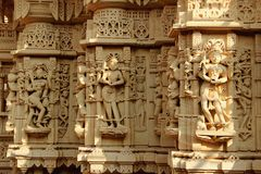 Carvings de mármore maravilhosos da parede Imagem de Stock Royalty Free