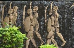 Carvings de pedra foto de stock royalty free