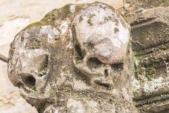 Carvings de pedra cinzelados na pedra Fotos de Stock Royalty Free