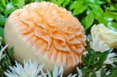 Carvings do fruto Imagens de Stock