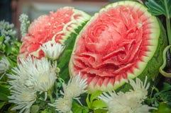 Carvings do fruto Foto de Stock Royalty Free