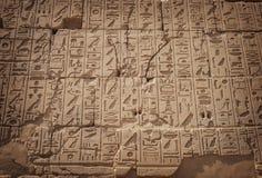 Carvings egípcios antigos imagem de stock royalty free