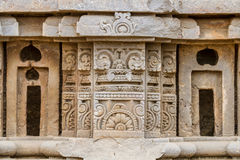 Carvings at the Harshat Mata Temple Stock Image