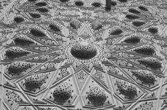 Carvings islâmicos foto de stock