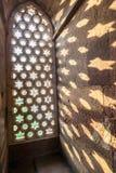 Carvings at Qutub Minar in Delhi, India Stock Images
