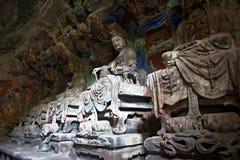 carvingsdazurock Arkivbilder