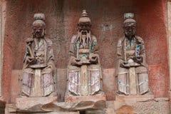 carvingsdazurock Arkivfoto