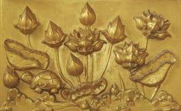 carvingsvägg Royaltyfri Bild