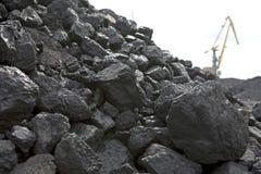 Carvão Imagem de Stock Royalty Free