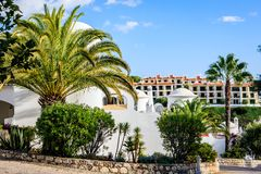 Carvoeiro, Algarve, Portugal Stock Afbeeldingen