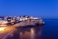 Carvoeiro in the Algarve Portugal Royalty Free Stock Images