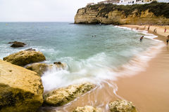 Carvoeiro beach Stock Photo