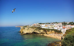 Carvoeiro beach. Royalty Free Stock Photos